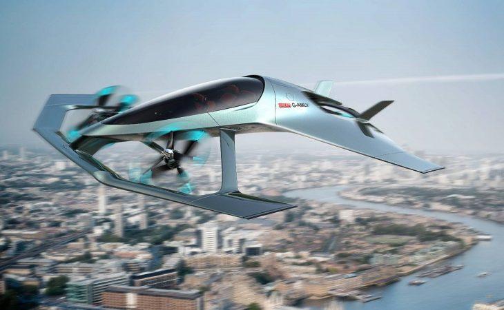 Daring Aston Martin 'Volante Vision Concept' Takes Luxury Mobility to the Skies