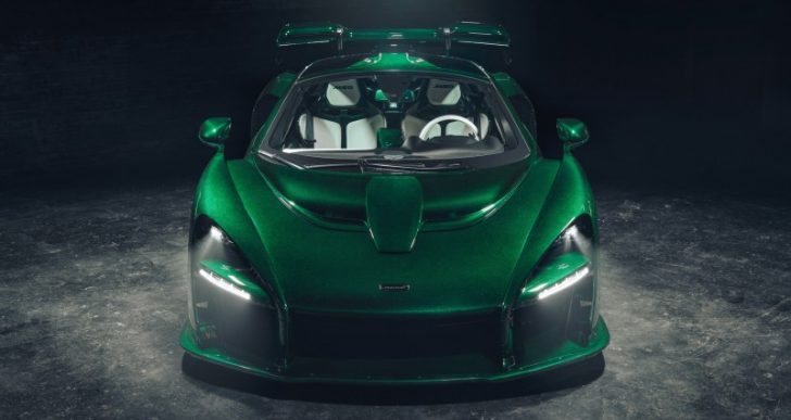 First McLaren Senna in the U.S. Delivered to Entrepreneur Michael Fux