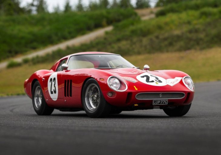 1962 Ferrari 250 GTO Shatters World Record for Car Auction With $48.4M Sale