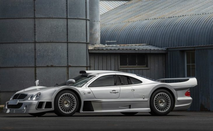 1998 Mercedes-Benz AMG CLK GTR Comes Up for Sale at Auction in Monterey