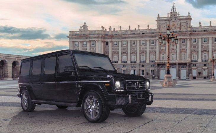 2018 Mercedes-AMG G63, the Armored Limousine Version