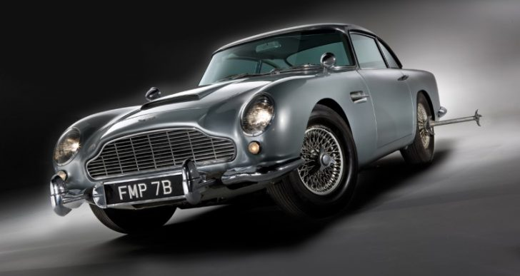 Aston Martin to Produce Limited Run of Goldfinger DB5