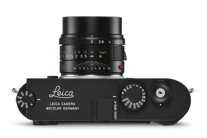 Leica M10-P Ditches Red Dot Logo for Inconspicuous Looks