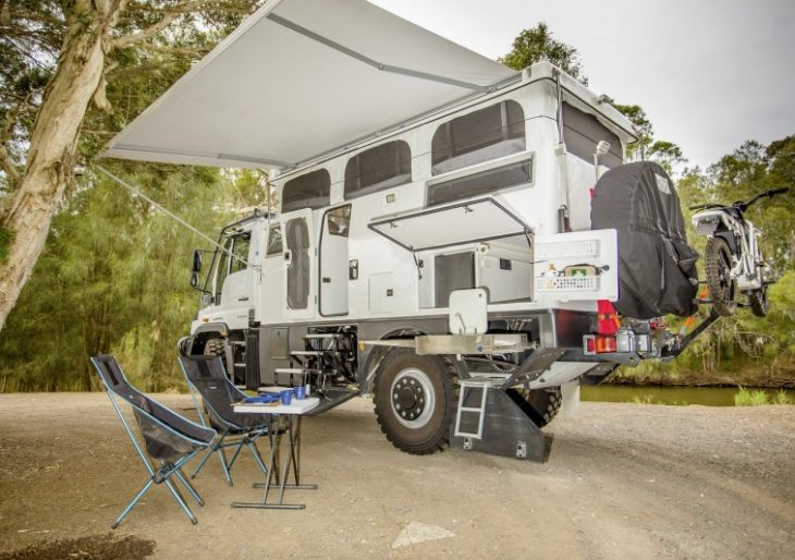This Mercedes Benz Unimog Based Rv Is For Seasoned Adventurers