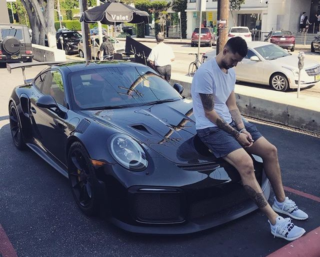 Wizards' Austin Rivers Shows Off His Very Potent Porsche GT2 RS