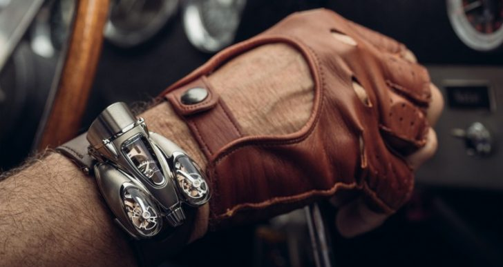 MB&F Impresses Once Again With $182K 'HM9 Flow' Timepiece