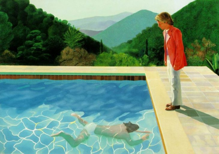 Billionaire Joe Lewis Seeking at Least $80M for David Hockney Painting