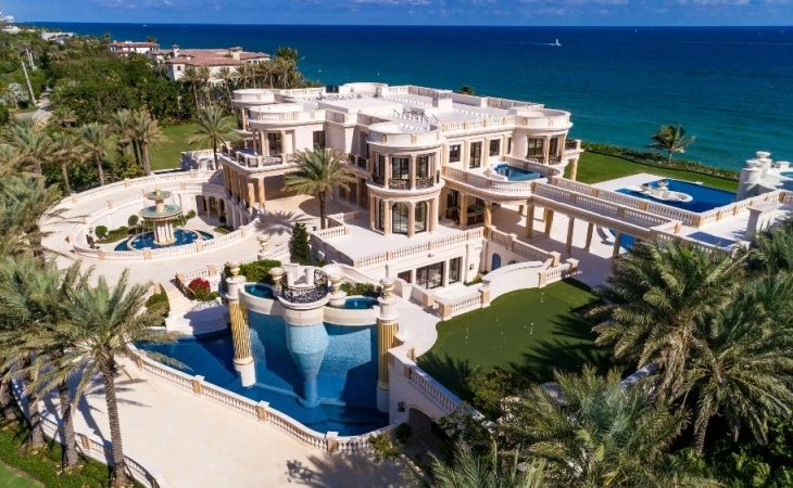Florida Mansion Listed at $159M Fetches $42.5M at Auction