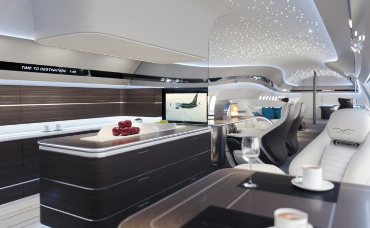 Boeing Shows Off Customization Potential of Its Latest Business Jet With Stunning Interior