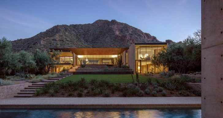 Ghost Wash House in Paradise Valley by Architecture-Infrastructure-Research