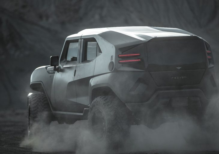 Rezvani's Fearsome Tank X Is Powered by 707-Horsepower Hellcat