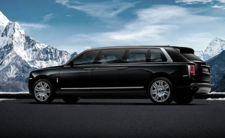 Rolls-Royce Cullinan Now Available As a $2.08M Stretch Limo, Courtesy of Klassen