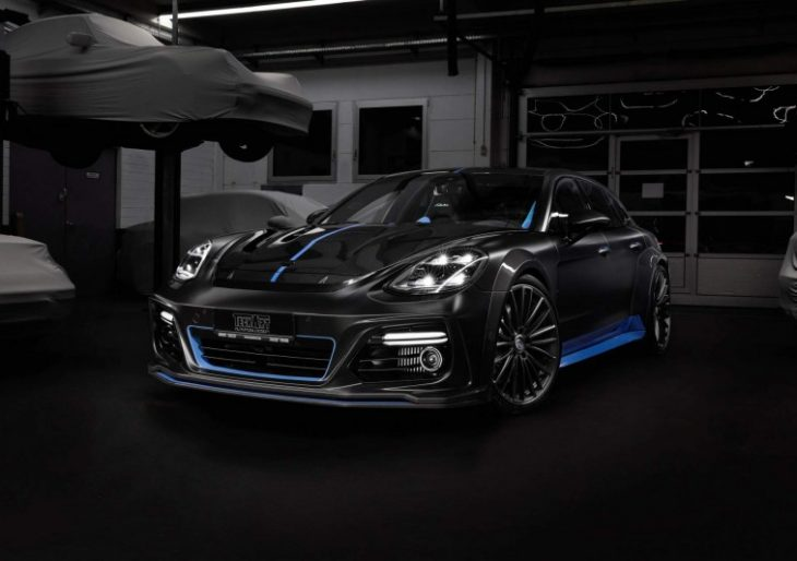 TechArt Dresses Up Panamera Sport Turismo in Black and Blue