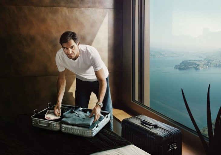Tennis Legend Roger Federer Is the Perfect Ambassador for Rimowa