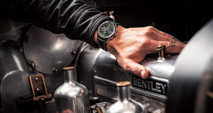 Breitling Chronograph Marks Renewed Partnership With Bentley