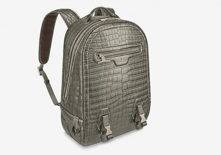 Louis Vuitton Introduces Crocodile Leather Backpack at $79K