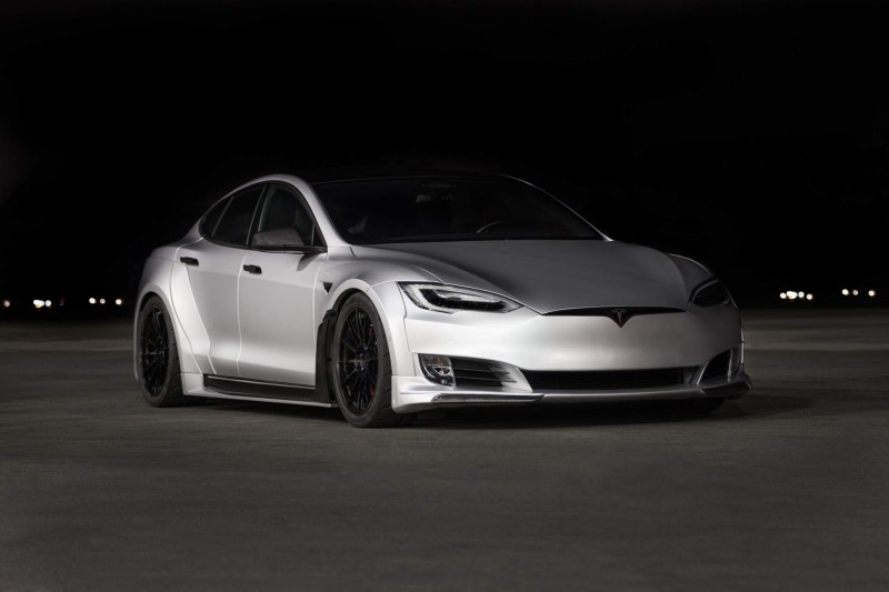 Tesla Model S Gets Aggressive With 50k Wide Body Kit By