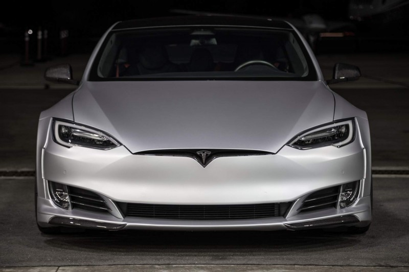 Tesla Model S Gets Aggressive With $50K Wide-Body Kit by