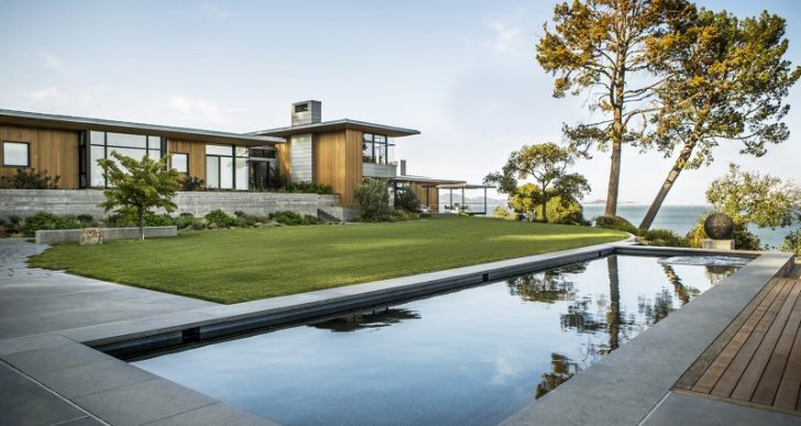 Tiburon Bay View in Marin County by Walker Warner Architects