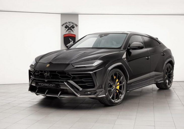 TopCar Customizes Lamborghini Urus With Plenty of Carbon Fiber