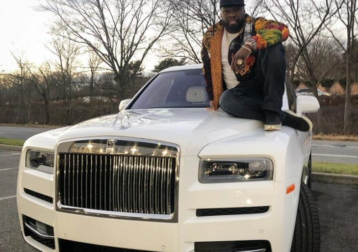 Rapper 50 Cent Treats Himself to a Slew of Supercars, Writes Big Check for Charity