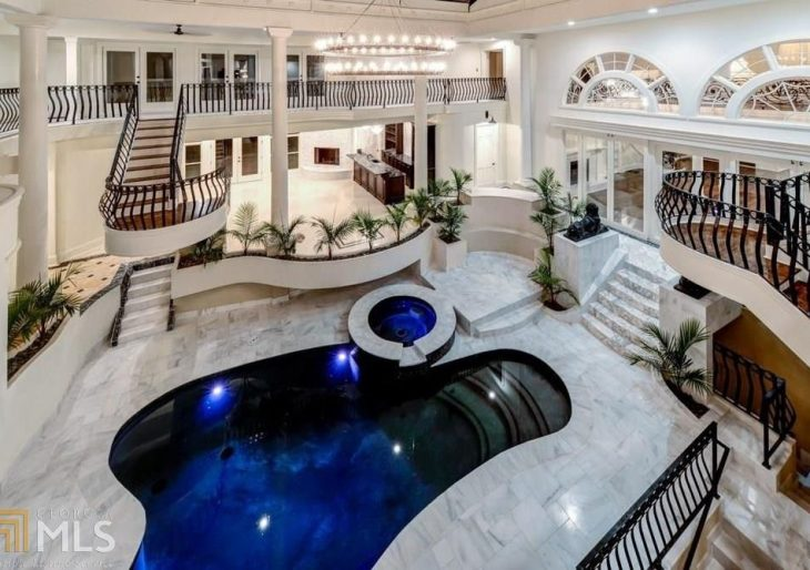 Rapper Young Thug Lists Atlanta Mansion With Indoor Pool