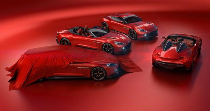 Wealthy Enthusiast Buys All Four Aston Martin Vanquish Zagato Variants