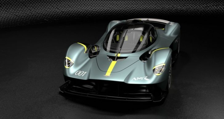 Aston Martin Shows Off Valkyrie Build Options As It Get Closer to the Finish Line