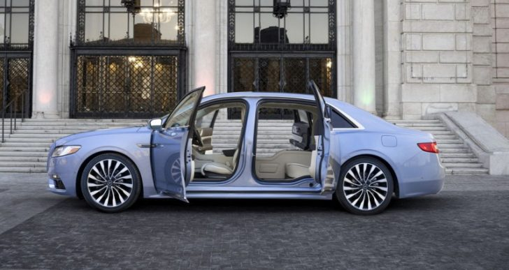 Continental Coach Door Edition Sold Out Fast Despite Six-Figure Price, So Lincoln Is Making More