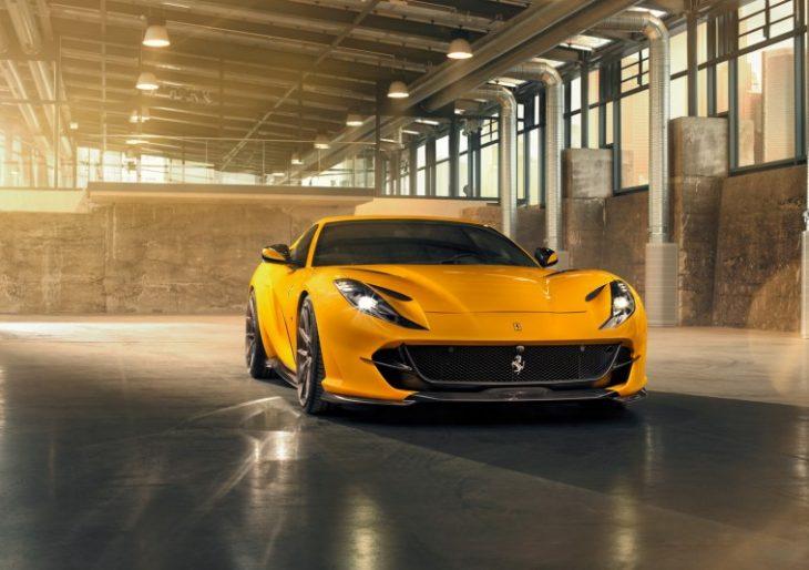 Ferrari 812 Superfast Receives Series of Upgrades From Novitec
