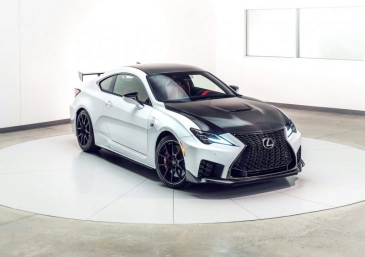 Lexus Unveils Refreshed RC F Along With Muscular 'Track Edition'