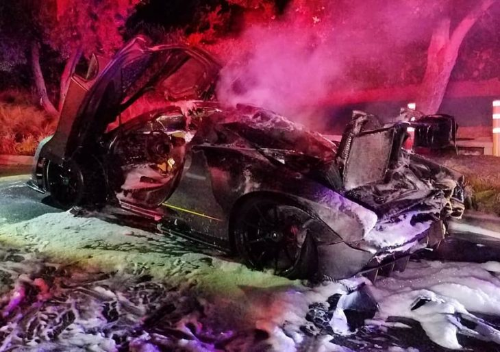 McLaren Senna Owned by YouTube Star Is Destroyed by Fire