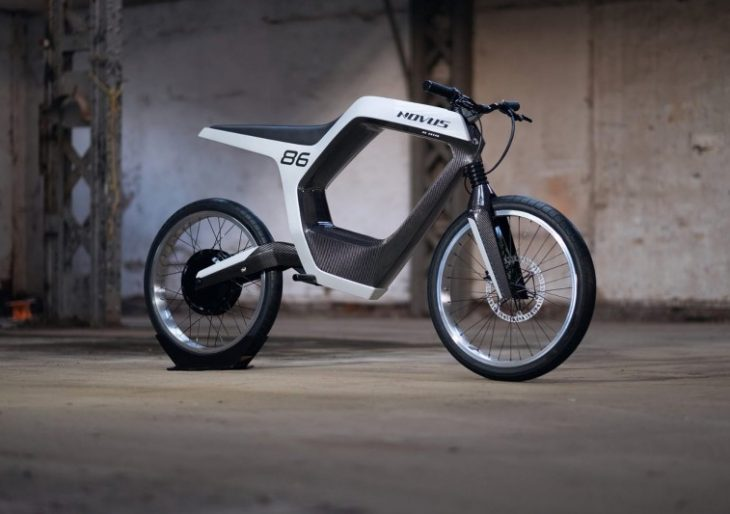 Novus' $40K Electric Motorcycle is a Beautiful Exercise in Minimalist Design