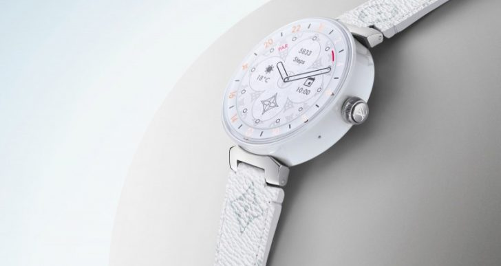 Louis Vuitton Updates Tambour Horizon Smartwatch for 2019