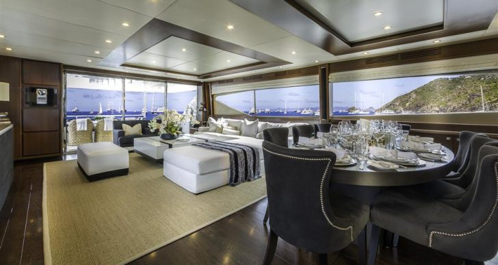 Princess-Built Cristobal Offers Smooth Sailing and Spacious Interiors at $3.6M