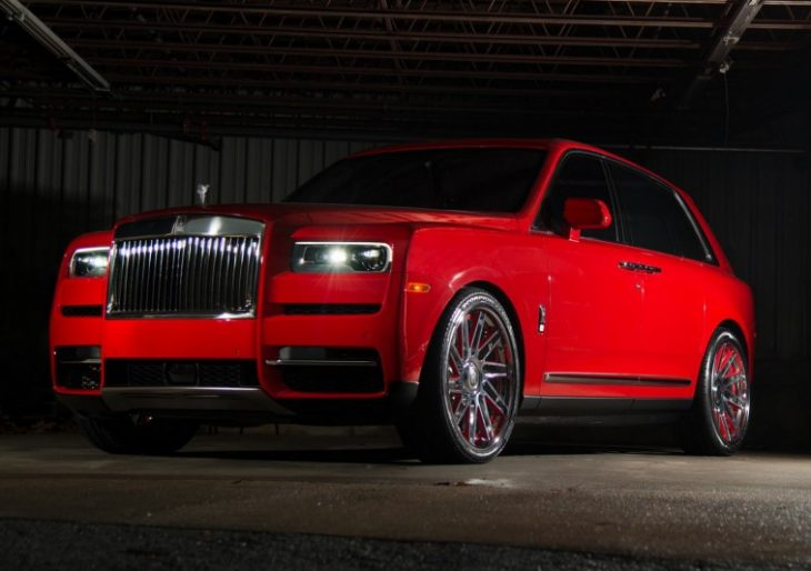Prolific Rapper Gucci Mane Gifts Wife Keyshia Red-on-Red Rolls-Royce Cullinan