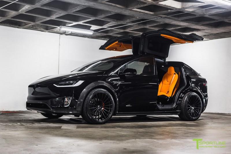 Tesla Model X P100d Rocks Bolder Look Thanks To T