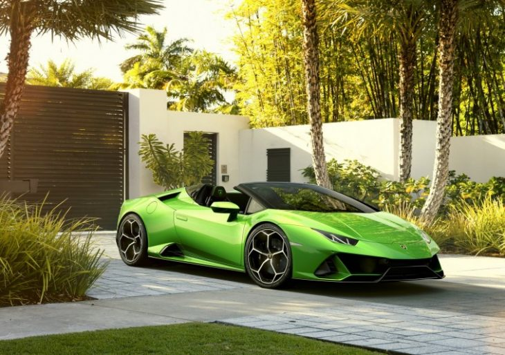 What Does Open-Top Motoring Feel Like at 201 MPH? Lamborghini Huracán Evo Spyder Can Help You Answer That