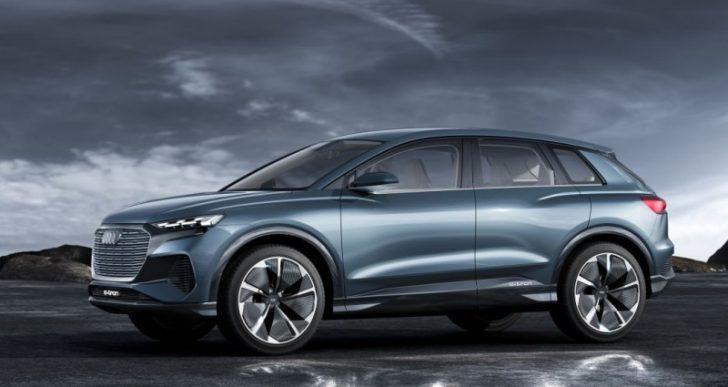 Audi Sets Sights on Electric Era With Q4 E-Tron Concept