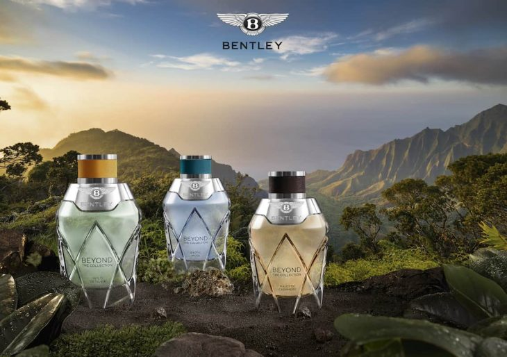 Bentley Unveils New Fragrance Line for Men and Women
