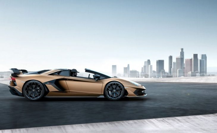 Lamborghini Aventador Progresses Toward Its Natural Conclusion With Awe-Inspiring SVJ Roadster