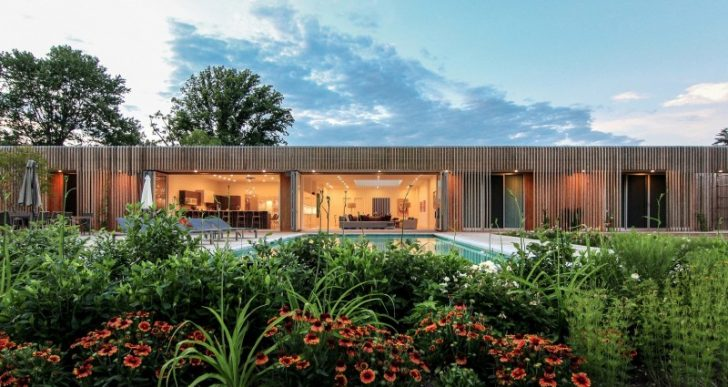 Meadow House in Potomac by Office Mian Ye