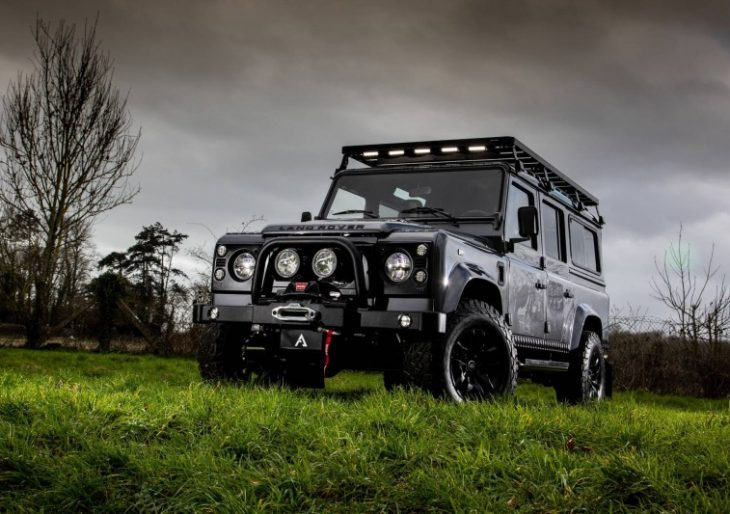 Arkonik Serves Up $190K Defender Restomod