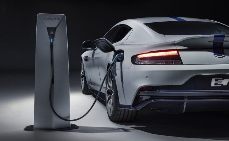 Aston Martin Moves Full Speed Ahead With Electrification, Shows Off Production-Ready Rapide E