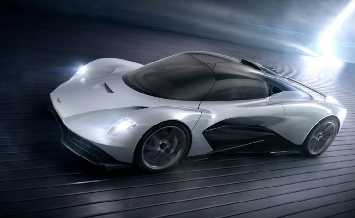 Aston Martin's Project 003 Is a Streamlined, Road-Legal Hypercar for Everyday Use