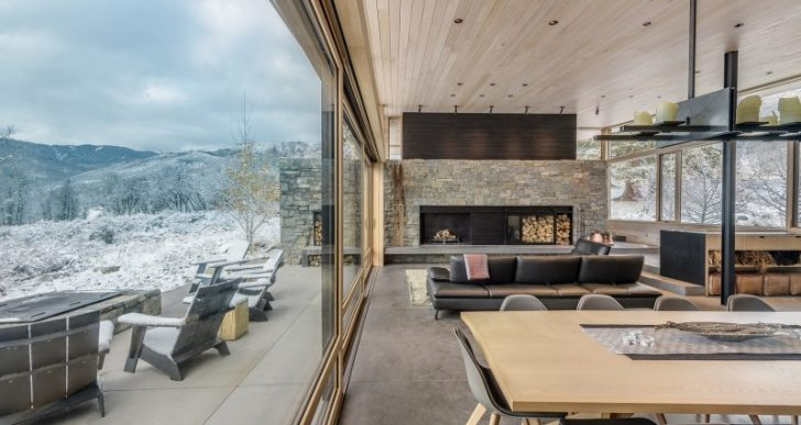 Gammel Dam in Aspen by CCY Architects