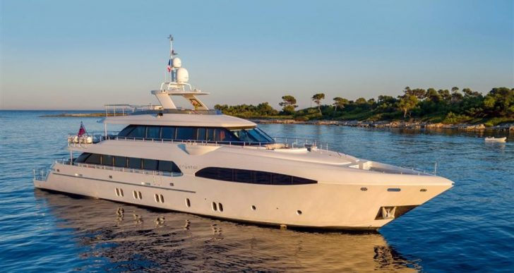 Dutch-Built 'Crystal' Motoryacht Offers a Classic-Styled Aesthetic Inside and Out at $8.3M