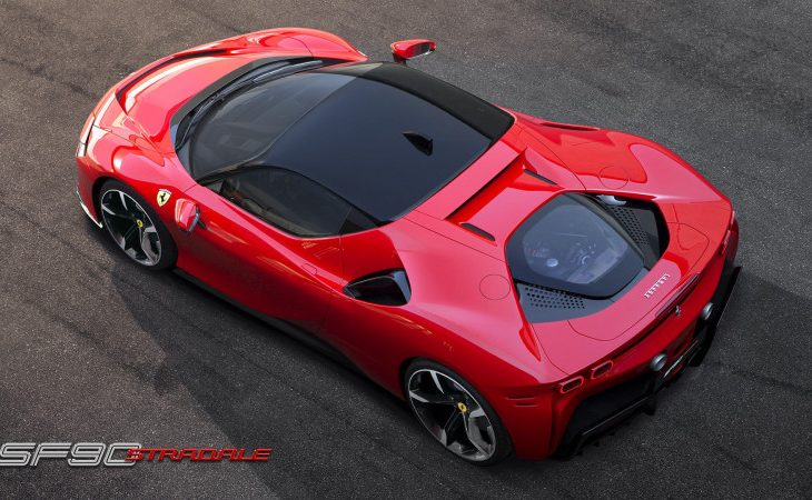 Ferrari SF90 Stradale Flirts With 1,000 Horses, Marks Scuderia's 90th in Style