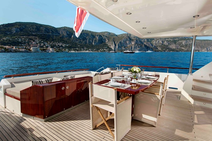 French Built Nyota Motoryacht A Picture Of Elegance
