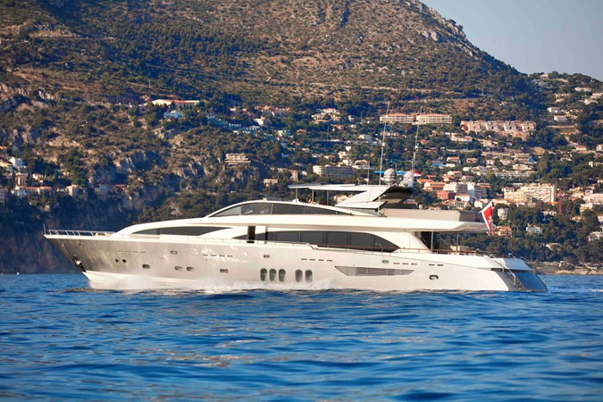 French-Built NYOTA Motoryacht, a Picture of Elegance, Available at $4.35M